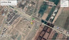 فروش زمین ۱۶۰ متر سنددار مسکونی در فرهنگیان شهرداری نظراباد